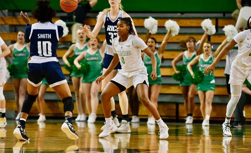 2.9.19 Marshall Women's Basketball vs Rice