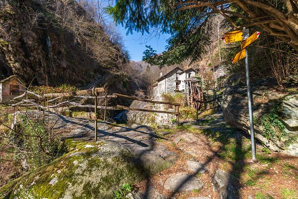 Intragna - Monte Comino (2019-03-30)