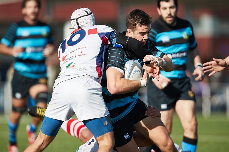 I.Industriales A vs Unión Rugby Almeria: 26-31