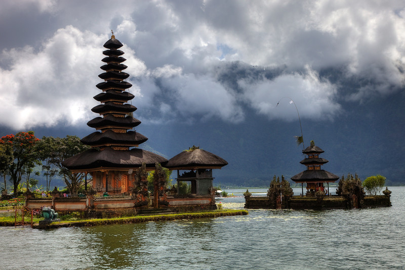 Pura Ulun Danu Bratan Temple at Lake Bratan
