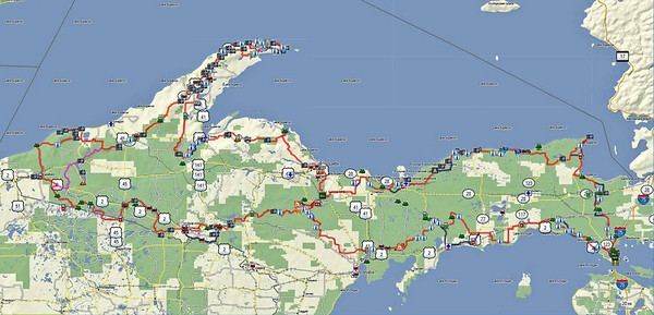 Upper Peninsula Adventure Trail
