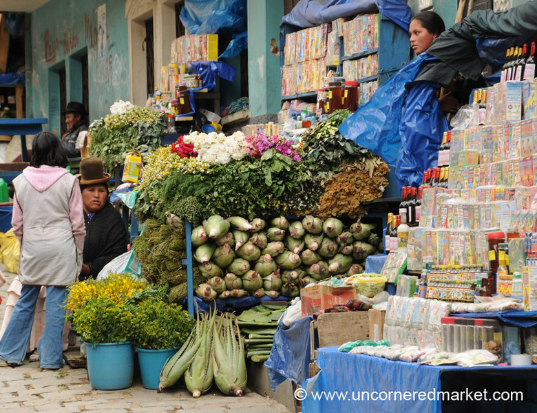 Lottery Tickets and Elixirs - La Paz, Bolivia