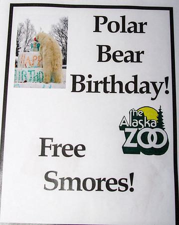 2013 POLAR BEAR BIRTHDAY PARTY