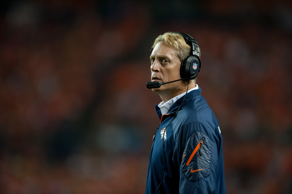 . <b>Jack Del Rio</b> <br />Defensive coordinator, Denver Broncos   (September 5, 2013)   (Photo by Dustin Bradford/Getty Images)