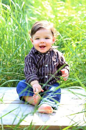 Ian's 1 Year Photos