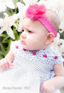 Layli Elaine Farashahi - 7 Months Old