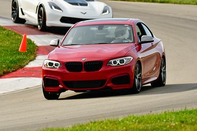 2019 SCCA TNiA Sept Pitt Race Red BMW 1