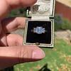 2.50ctw Emerald Cut Diamond 3-stone Ring, GIA E VS1 28
