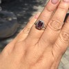 1.52ct Ruby Halo Ring, GIA No Heat 17