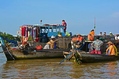 Chau Doc Floating Market
