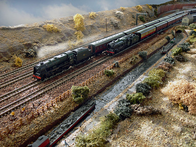 N Gauge Gallery Part two  Rugby Road Ian MacIntosh