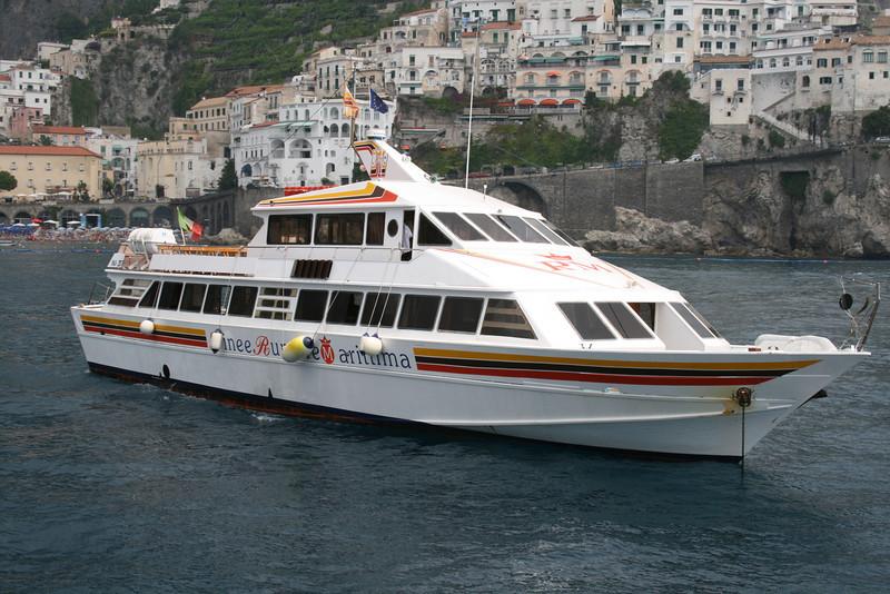 M/V ISCHIA PRINCESS in Amalfi.