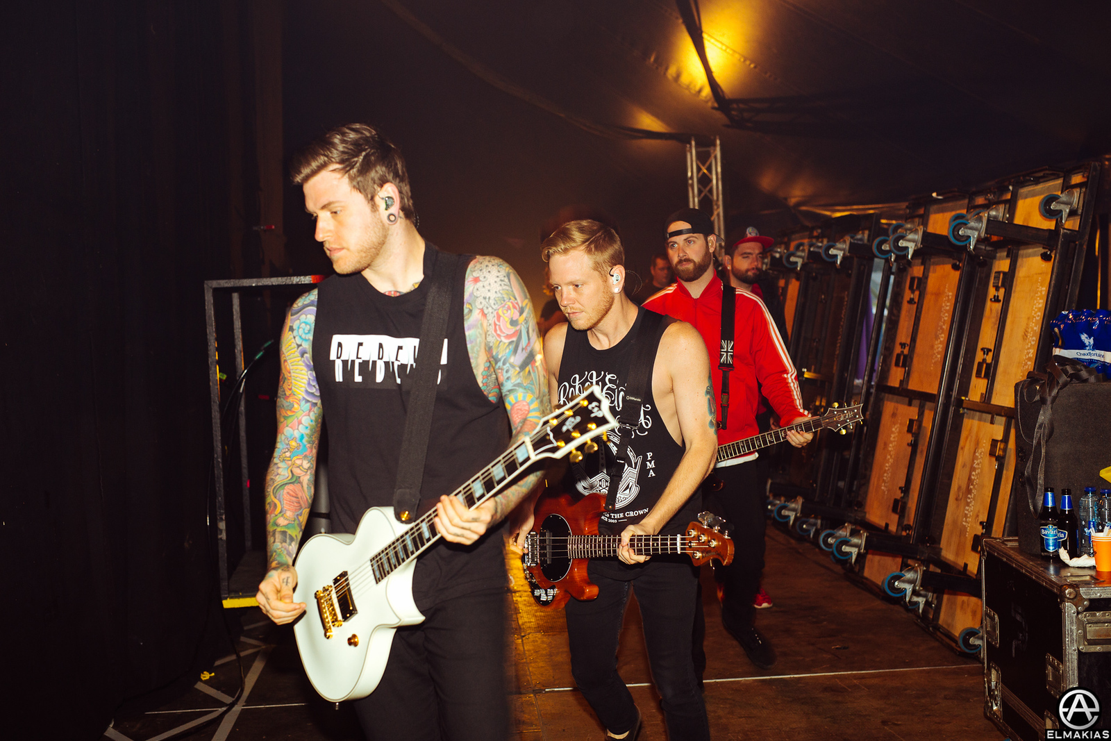 A Day To Remember at Jera On Air in Ysselsteyn, Netherlands - European Festivals