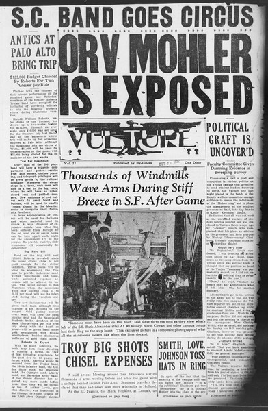 Vulture, Vol. ??, No. 1, October 26, 1932