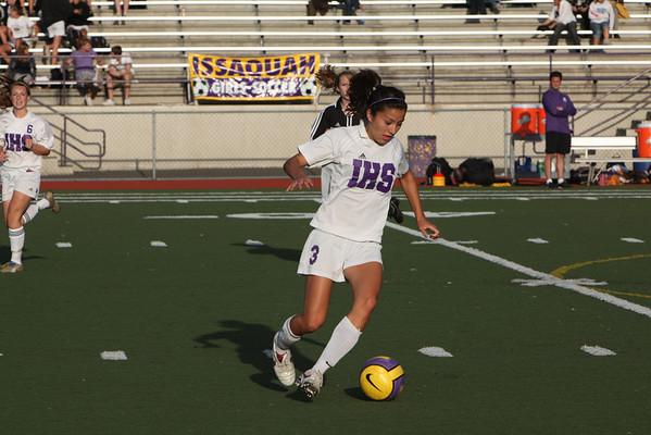 2009-09-24 IHS Girls JV Soccer vs Inglemoor