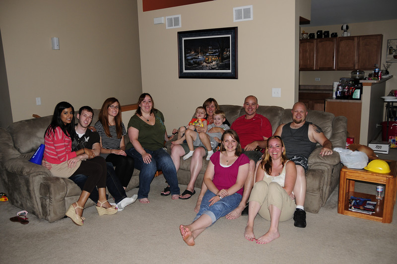 Erin's Visit and Jennifer's Birthday