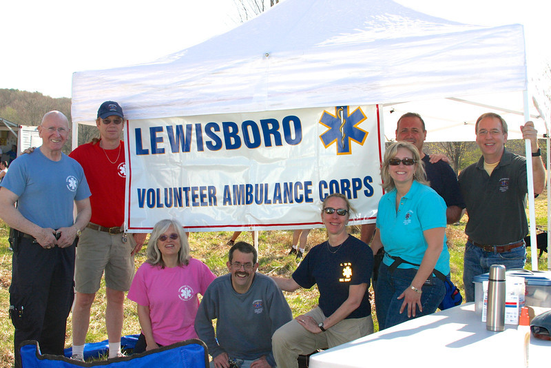 Lewisboro Volunteer Ambulance Corps in 2011 (photo by Carol Gordon)