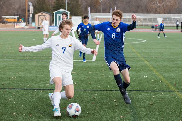 Boy's Soccer: Priory vs JBS