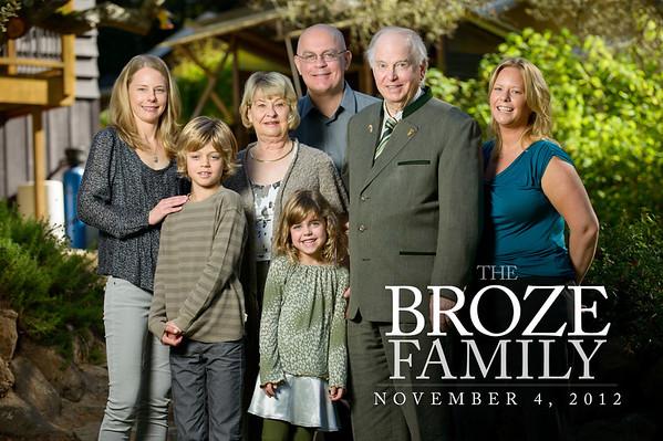 The Brozes (Family Photography, Private Residence, Santa Cruz, California)