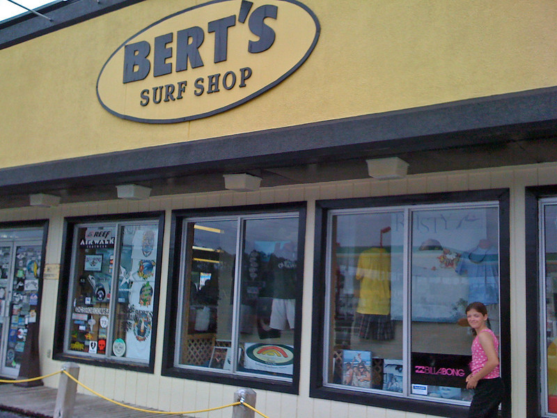 Bert's where we finally found swimtrunks that fit Jacob in size 27!