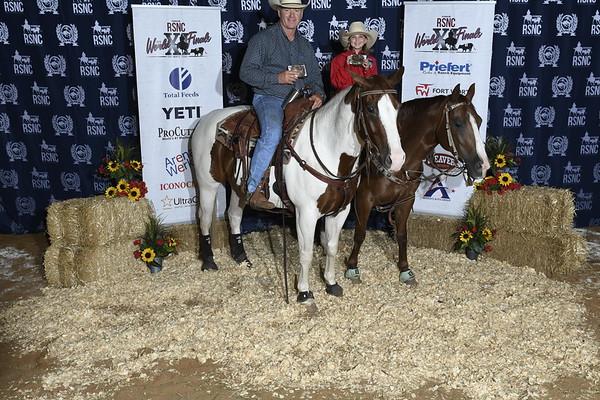 AVG Winners Blue Backdrop RSNC Finals 2018 Fort Worth TX