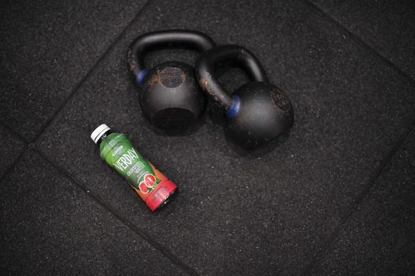 112916 Verday Water @ Dogpound Gym