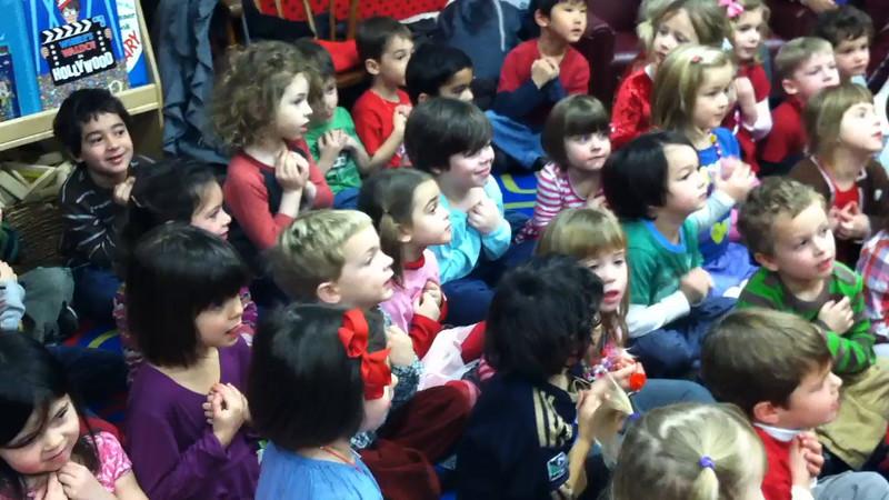 Preschool Valentines and Talent Show video 2/12