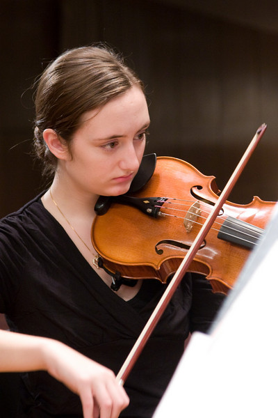 Emily Moore, viola -- Hopkins Symphony Orchestra, March 2008