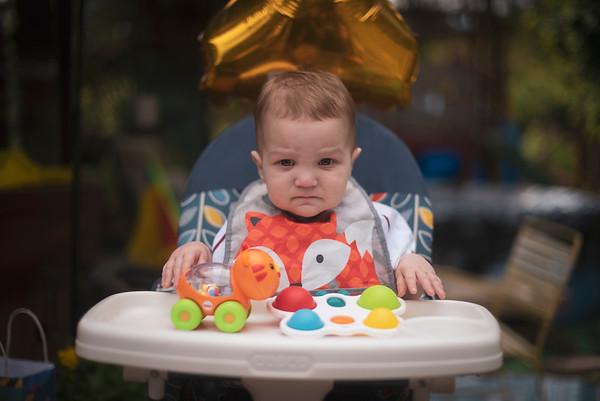 James' First Birthday