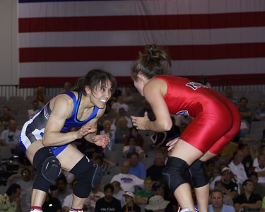 Women's Freestyle Championships 48 Kg Stephanie Murata (Sunkist Kids) def. Mary Kelly (NYAC)