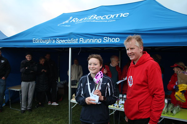 5k Scottish Champs 2017 Prize giving
