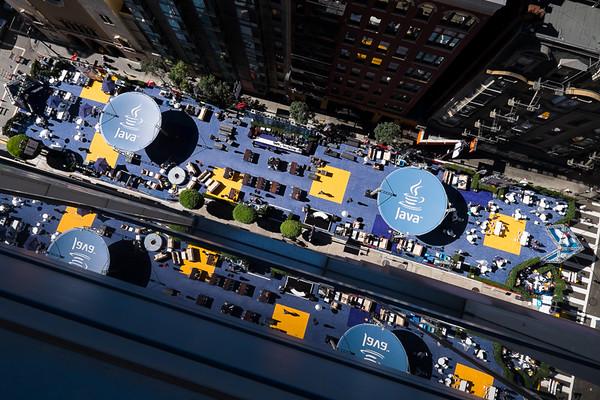 Duke's Cafe Aerial Shots