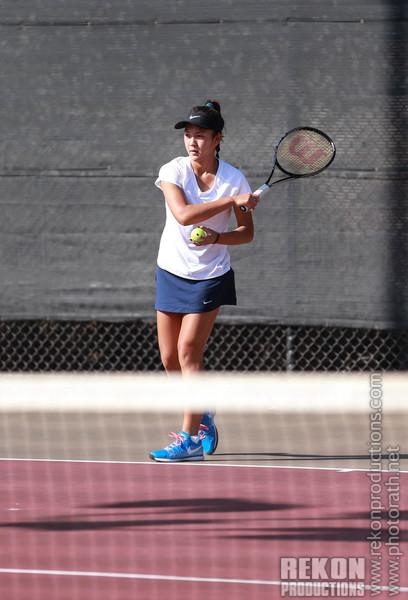 Girls V-Tennis 10/09/14