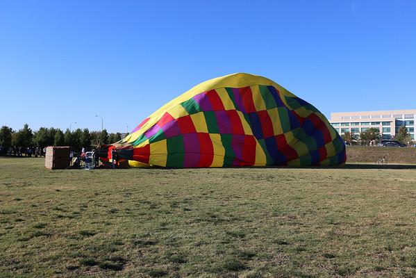 UTD balloon rides!! October 2012
