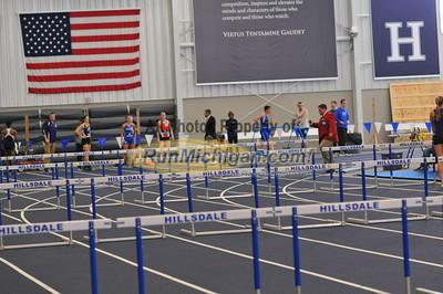 Women's 60M Hurdles - 2014 GLIAC Indoor Meet