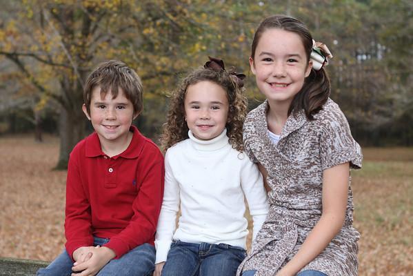Brooklyn, Jack, & Molly Grace Fall 2012