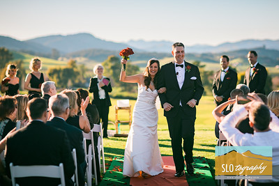 Julie+Brian ~ SLO Wedding!