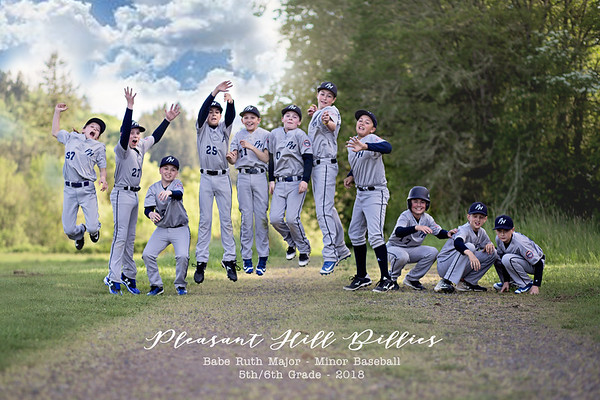 Pleasant Hill Billies - Major Minor Baseball