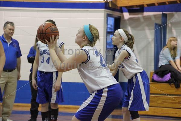 7th grade girls bball v. south beloit . 2.16.15