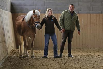 25.11.2012 Reitseminar mit Antonio Conejo und Susanne Andersch