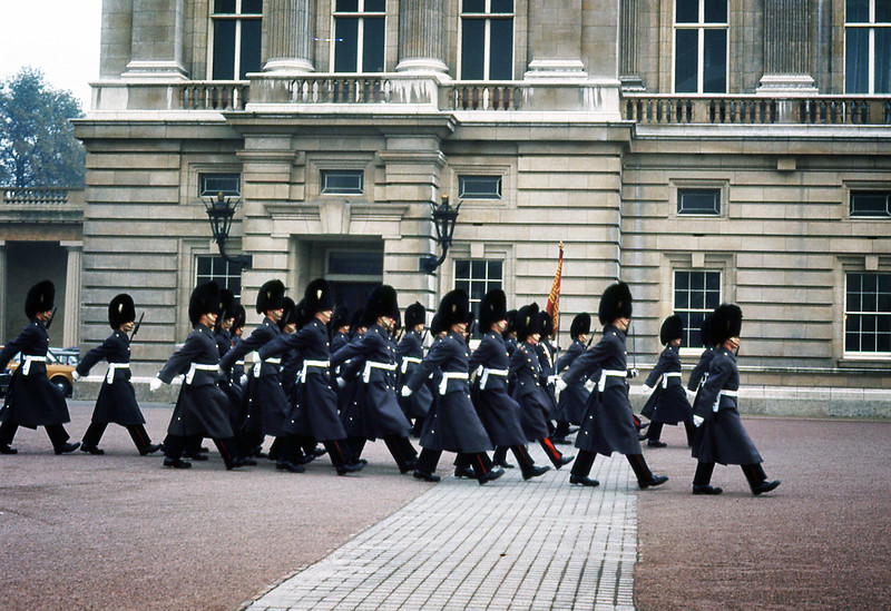 City of London . Palace Guards