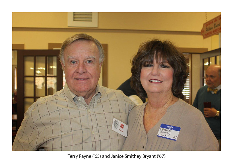 Terry Payne '65 and Janice Smithey Bryant '67.jpg