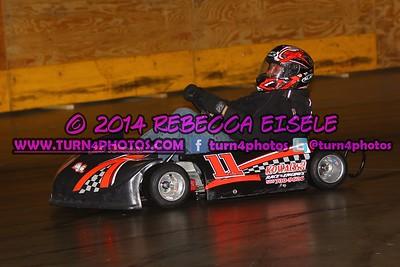 2014 Indoor Karts Heats Round 1