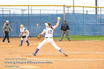 160307 PHS Softball vs Cedar Ridge
