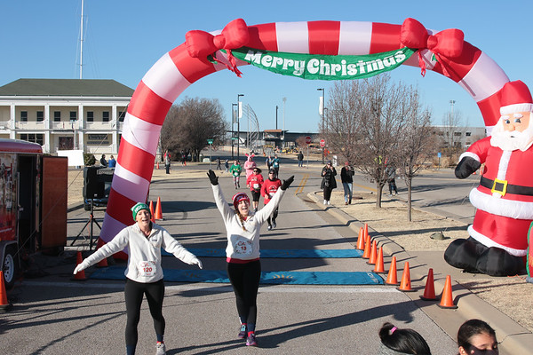 2019 Wichita Santa 5k Run