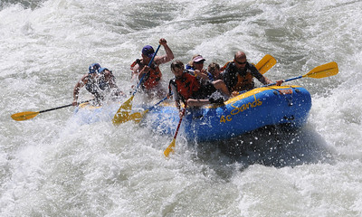 Day 5 - Jackson Rafting and Rodeo June 19