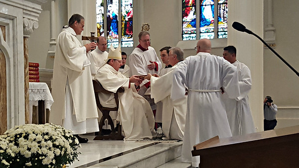 LARRY LEON GUERTIN  RITE OF ORDINATION 2017