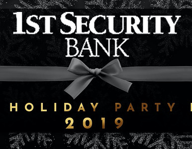 1st Security Bank 2019 Holiday Party