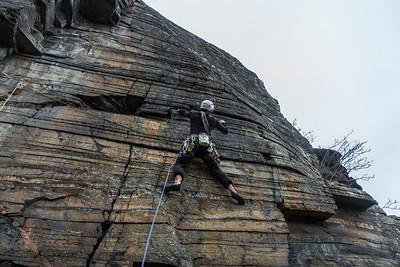 05 Creag Dubh rock climbing