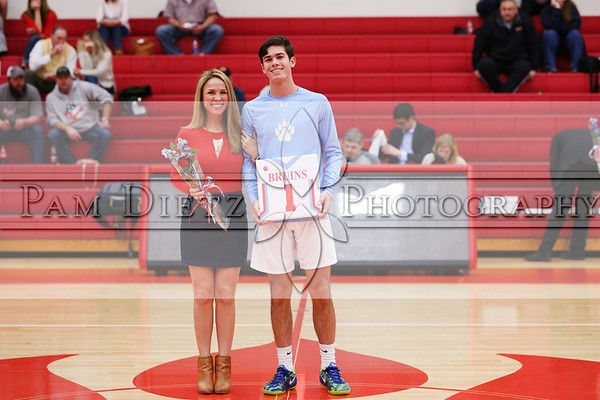 USJ  basketball Senior Night 2-10-20